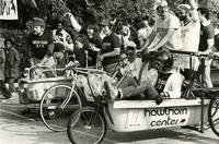 Bath tub bicycle race