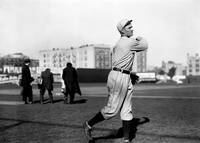 Walter Johnson follow through