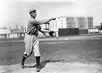 Walter Johnson pitching