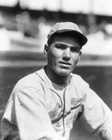 Dizzy Dean close up
