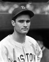 Bobby Doerr looking into camera
