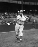 Jimmie Foxx bat on shoulder
