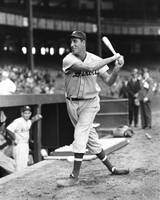 Hank Greenberg stance and swing