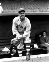 Burleigh Grimes with glove