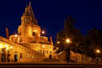 Hungary - Budapest- Fisherman's Bastion blue hour