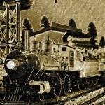 """Locomotive Circa 19th Century"" by frankreggio"