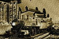 Locomotive Circa 19th Century