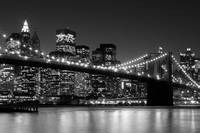manhattan skyline bw tiff