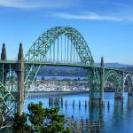 """Yaquina Bay Bridge"" by christiancarollo"