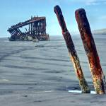 """Peter Iredale Shipwreck, Oregon Coast"" by christiancarollo"