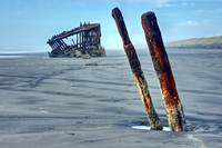 Peter Iredale Shipwreck, Oregon Coast