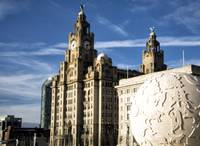 Liverpool Pier Head - The Liver Building