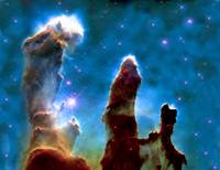 Eagle Nebula M 16 Pillars Complete Enhanced