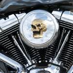 """Custom Harley-Davidson Engine"" by FatKatPhotography"
