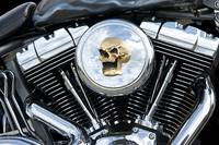 Custom Harley-Davidson Engine