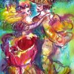 """CARNIVAL DANCE / VENETIAN MASQUERADE"" by BulganLumini"