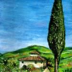 """Old Farmhouse in Chianti"" by BulganLumini"