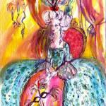 """""""COLOMBINA / VENETIAN MASQUERADE CHARACTERS"""" by BulganLumini"""