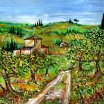 """OLIVE TREES IN TUSCANY"" by BulganLumini"