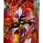 """COLOMBINA / Venetian Masquerade"" by BulganLumini"