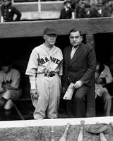 Emil E. Fuchs with Johnny Evers