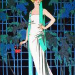 """RED ROSES IN THE NIGHT, ART DECO BEAUTY FASHION"" by Masterpieces-of-Art"