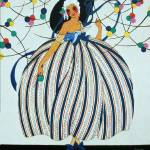 """WHIMSICAL YOUNG GIRL / Art Deco Beuaty Fashion"" by Masterpieces-of-Art"
