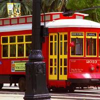 New Orleans Trolley Art Prints & Posters by Frank Romeo