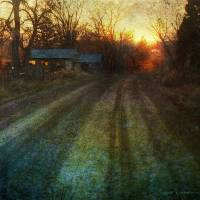 house down the road Art Prints & Posters by r christopher vest