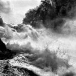 """""""Rhine Falls Schaffhausen BW"""" by robertmeyerslussier"""