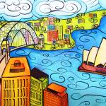 """Whimsical Sydney Harbour"" by oystudio"