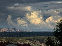 Monsoon Clouds over Sedona 1141