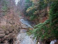Mill Creek Gorge in the Spring