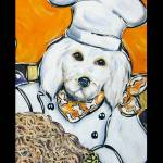 """""""Golden Doodle Chef"""" by ArtbyJoanne"""
