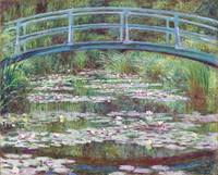 Claude Monet The Japanese Footbridge