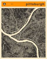 Pittsburgh Map
