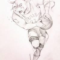 bull Art Prints & Posters by Robert Goris