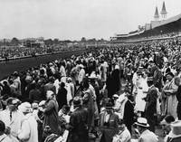 1965 Kentucky Derby Horse Racing Vintage