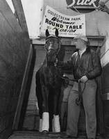 Round Table Vintage Horse Racing #1