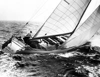 Sailboat turning