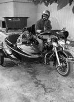 Sidecar rebel dog