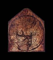 Hereford Mappa Mundi Medium Black Border