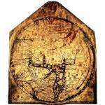 """Hereford Mappa Mundi Large White Border"" by TheNorthernTerritory"
