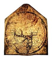 Hereford Mappa Mundi Large White Border