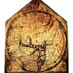"""Hereford Mappa Mundi Medium White Border"" by TheNorthernTerritory"