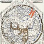 """Hereford Mappa Mundi Latin Text"" by TheNorthernTerritory"