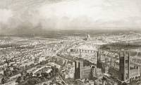 Bird's Eye View of London from Westminster Abbey