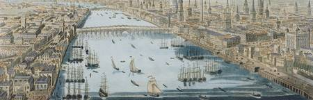 A General View of the City of London and the River