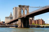 Brooklyn Bridge and the East River