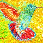"""Hummingbirds"" by Liliya_Chernaya"
